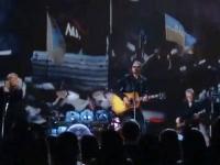 На церемонії найпрестижнішої музичної нагороди Греммі-2015 промайнули кадри з Майдану