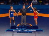 Українки отримали бронзу на чемпіонаті світу з вільної боротьби