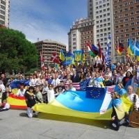 Василь Нечепа на Світовому конгресі українців у Мадриді