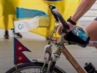 Українець проїхав велосипедом 14 000 кілометрів.