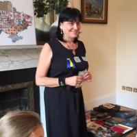 """Тетяна Протчева презентувала """"сяюче мистецтво"""" у Ірландії та провела майстер-клас"""