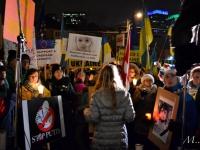 У Торонто пікетували українське консульство, а у Лондоні заблокували посольство