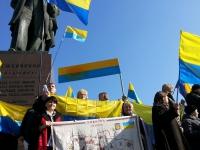 """Представники МГО """"Ми Українці"""" взяли участь в урочистих заходах, присвячених 200-річчя Т.Г. Шевченка"""