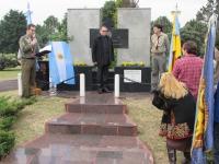 У Аргентині відкрили меморіальну дошку в пам'ять загиблих на Майдані та на Сході