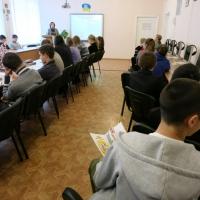 """Лекції для дітей в рамках Всеукраїнської акції """"16 днів проти насильства в сім'ї"""""""