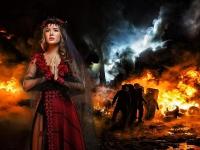 """На """"Місс Всесвіт 2014"""" Україну представить красуня в образі """"нареченої війни"""""""